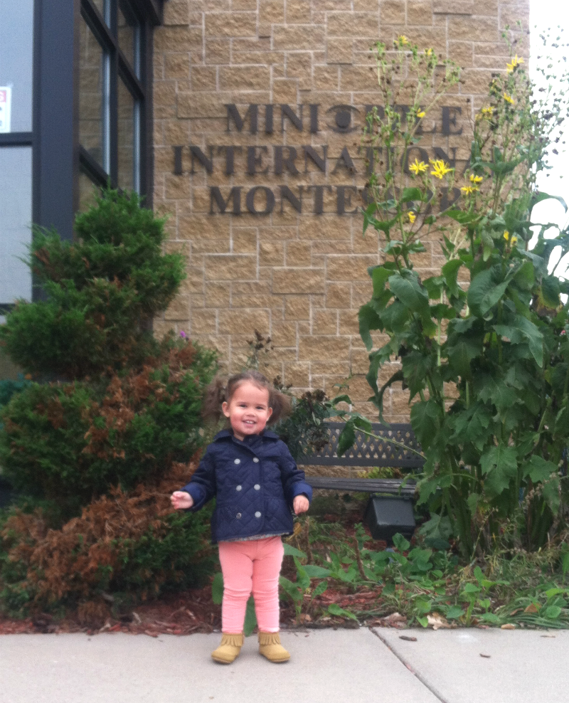 Emmy's first day of school!