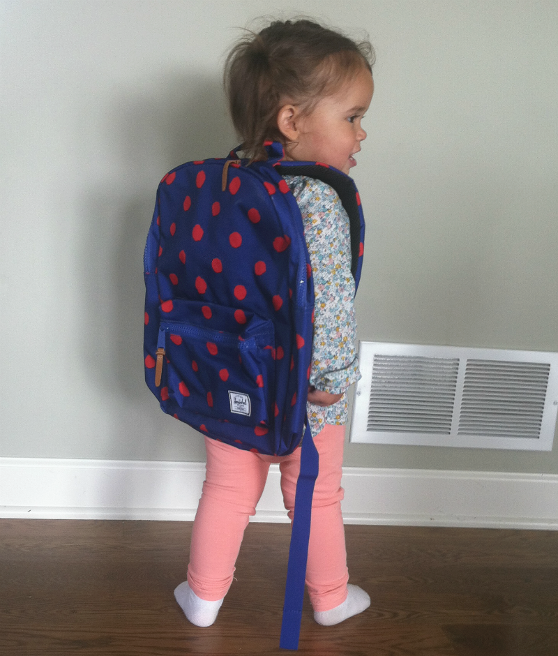 Emmy backpack back