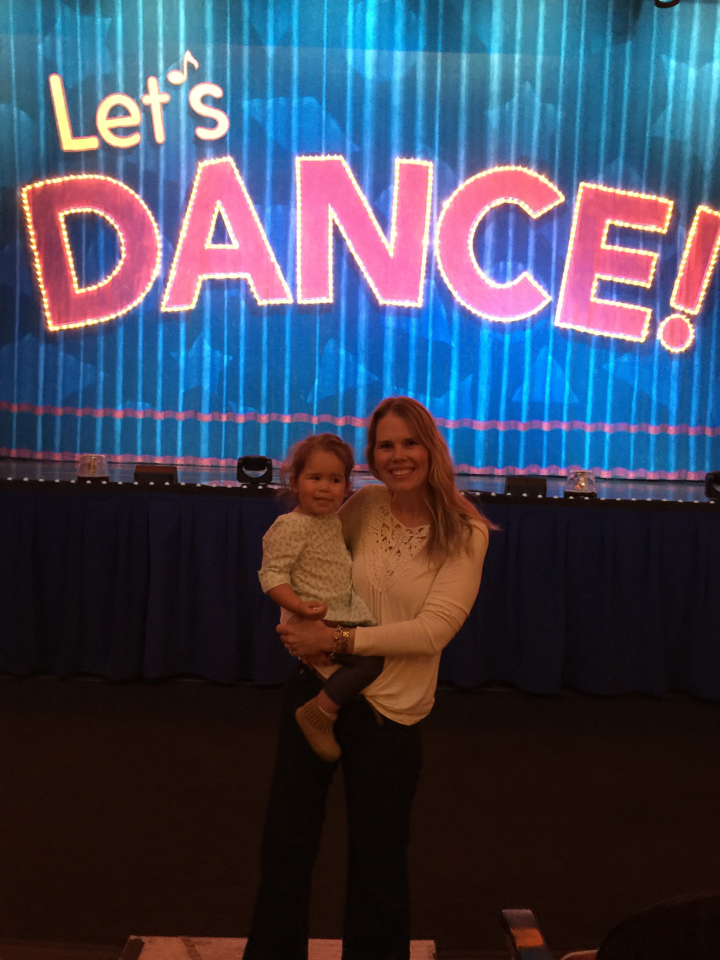 We took Emmy to Sesame Street Live: Let's Dance! And she was in total awe! She loved it, except for when the characters would try to come and say hi to her in the aisle. She has suddenly become terrified of anyone dressed up in costume...I guess she is my daughter, after all! :)